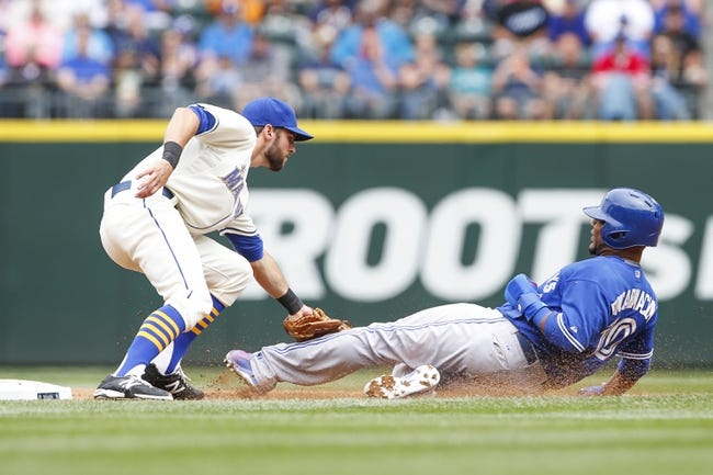 Toronto Blue Jays vs. Seattle Mariners - 7/22/16 MLB Pick, Odds, and Prediction