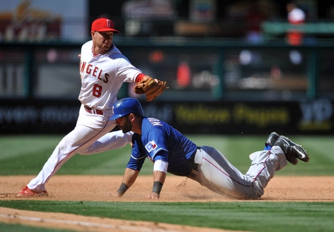 Los Angeles Angels vs. Texas Rangers - 9/4/15 MLB Pick, Odds, and Prediction