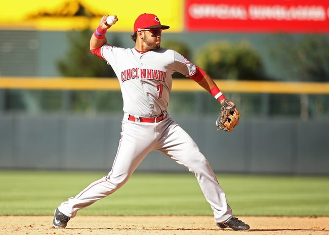 Cincinnati Reds vs. Colorado Rockies - 4/19/16 MLB Pick, Odds, and Prediction