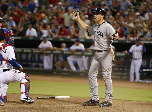 Texas Rangers vs. New York Yankees - 7/28/15 MLB Pick, Odds, and Prediction