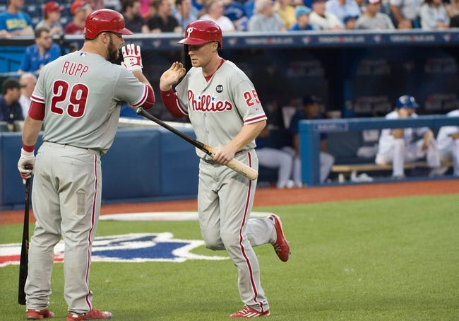 Blue Jays vs. Phillies - 7/29/15 MLB Pick, Odds, and Prediction