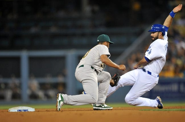 Los Angeles Dodgers vs. Oakland Athletics - 7/29/15 MLB Pick, Odds, and Prediction