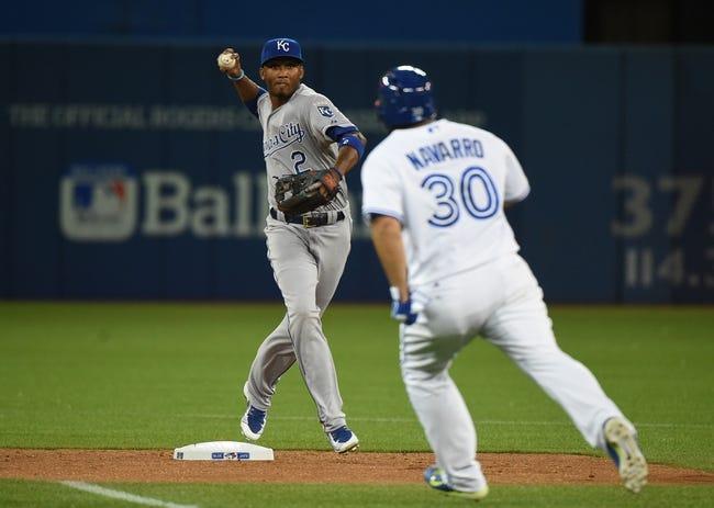 Toronto Blue Jays vs. Kansas City Royals - 7/31/15 MLB Pick, Odds, and Prediction