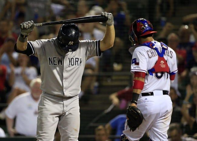 Yankees at Rangers - 4/25/16 MLB Pick, Odds, and Prediction
