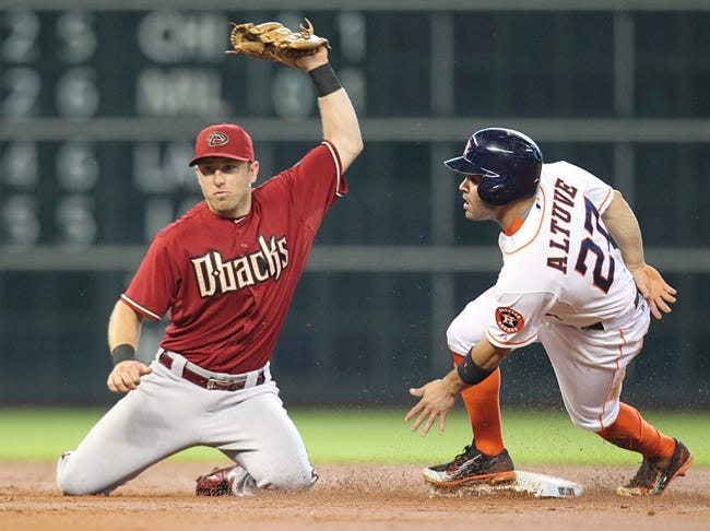 Arizona Diamondbacks vs. Houston Astros - 10/2/15 MLB Pick, Odds, and Prediction