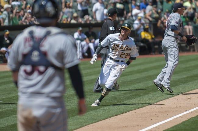 Athletics at Indians - 7/29/16 MLB Pick, Odds, and Prediction