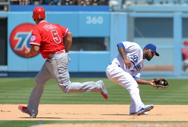 Los Angeles Angels vs. Los Angeles Dodgers - 9/7/15 MLB Pick, Odds, and Prediction