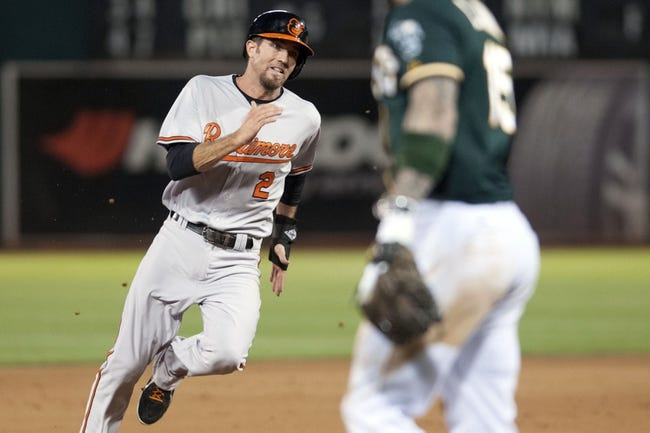 Oakland Athletics vs. Baltimore Orioles - 8/5/15 MLB Pick, Odds, and Prediction
