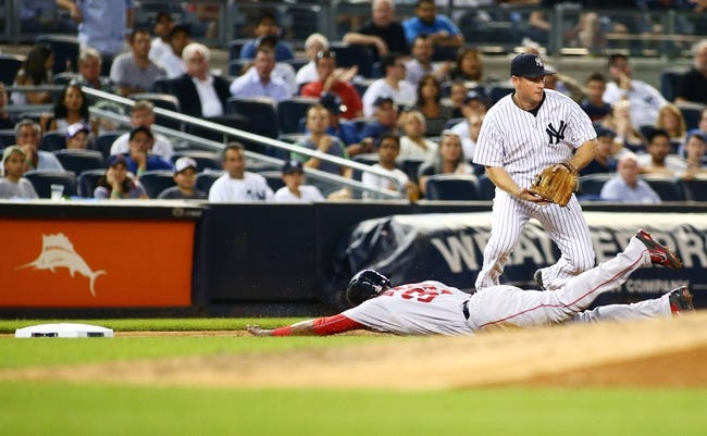 Yankees vs. Red Sox - 8/5/15 MLB Pick, Odds, and Prediction
