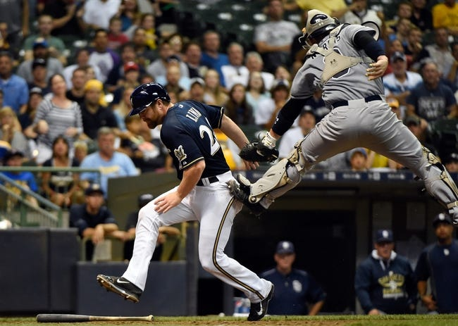 Milwaukee Brewers vs. San Diego Padres - 8/5/15 MLB Pick, Odds, and Prediction