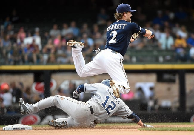 San Diego Padres vs. Milwaukee Brewers - 9/29/15 MLB Pick, Odds, and Prediction