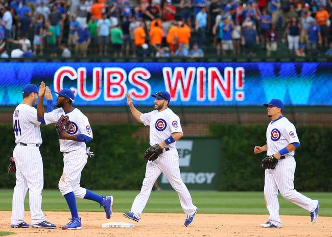 Chicago Cubs vs. San Francisco Giants - 8/8/15 MLB Pick, Odds, and Prediction