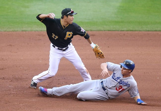 Pirates vs. Dodgers - 8/9/15 MLB Pick, Odds, and Prediction