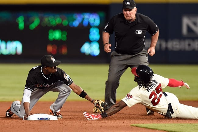 Braves vs. Marlins - 8/9/15 MLB Pick, Odds, and Prediction