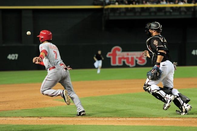 Arizona Diamondbacks vs. Cincinnati Reds - 8/9/15 MLB Pick, Odds, and Prediction