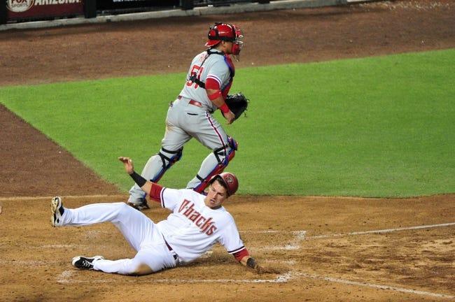 Arizona Diamondbacks vs. Philadelphia Phillies - 8/11/15 MLB Pick, Odds, and Prediction