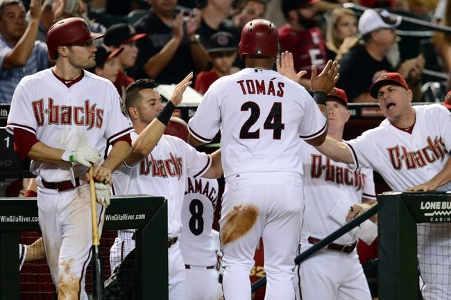 Arizona Diamondbacks vs. Philadelphia Phillies - 8/12/15 MLB Pick, Odds, and Prediction