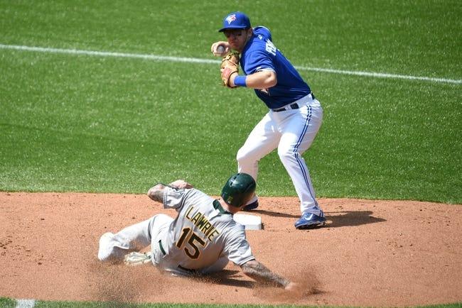 Toronto Blue Jays vs. Oakland Athletics - 4/22/16 MLB Pick, Odds, and Prediction