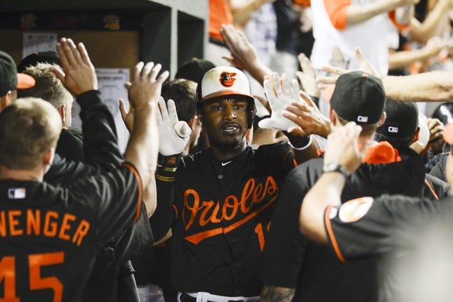 Orioles vs. Athletics - 8/15/15 MLB Pick, Odds, and Prediction