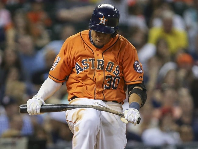 Houston Astros vs. Detroit Tigers - 8/15/15 MLB Pick, Odds, and Prediction