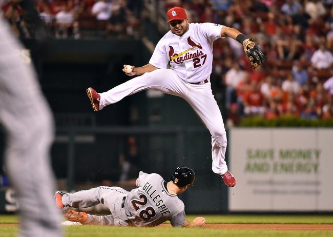 St. Louis Cardinals vs. Miami Marlins - 8/15/15 MLB Pick, Odds, and Prediction