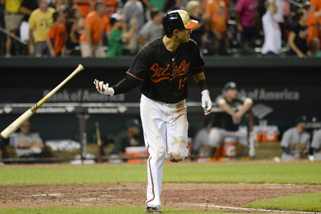 Baltimore Orioles vs. Oakland Athletics - 8/16/15 MLB Pick, Odds, and Prediction