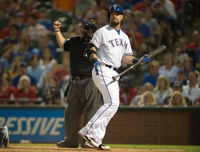 Texas Rangers vs. Tampa Bay Rays - 8/16/15 MLB Pick, Odds, and Prediction