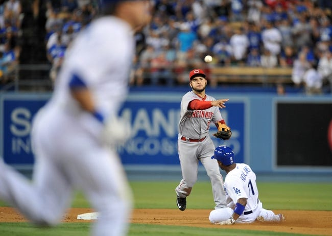 Los Angeles Dodgers vs. Cincinnati Reds - 8/16/15 MLB Pick, Odds, and Prediction