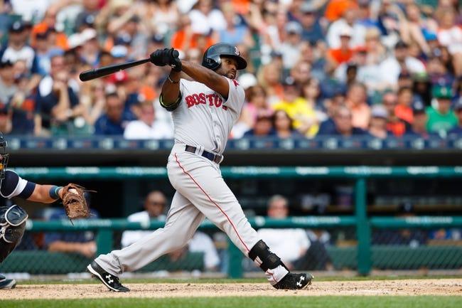Boston Red Sox vs. Detroit Tigers - 7/25/16 MLB Pick, Odds, and Prediction