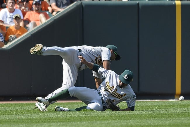 Orioles vs. Athletics - 8/17/15 MLB Pick, Odds, and Prediction