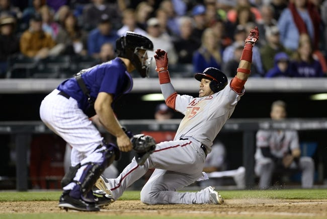Colorado Rockies vs. Washington Nationals - 8/19/15 MLB Pick, Odds, and Prediction