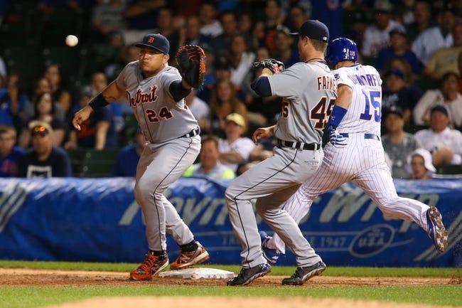 Cubs vs. Tigers - 8/19/15 MLB Pick, Odds, and Prediction