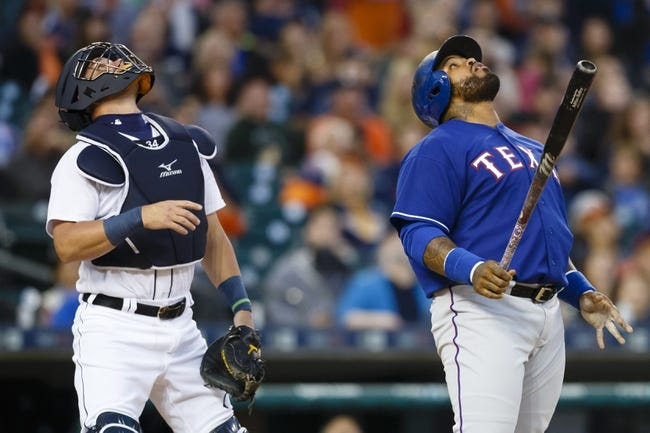 Detroit Tigers vs. Texas Rangers - 8/21/15 MLB Pick, Odds, and Prediction