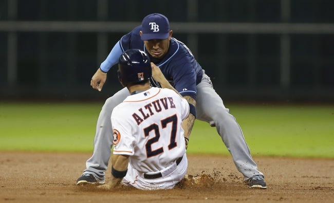 Rays vs. Astros - 6/10/16 MLB Pick, Odds, and Prediction