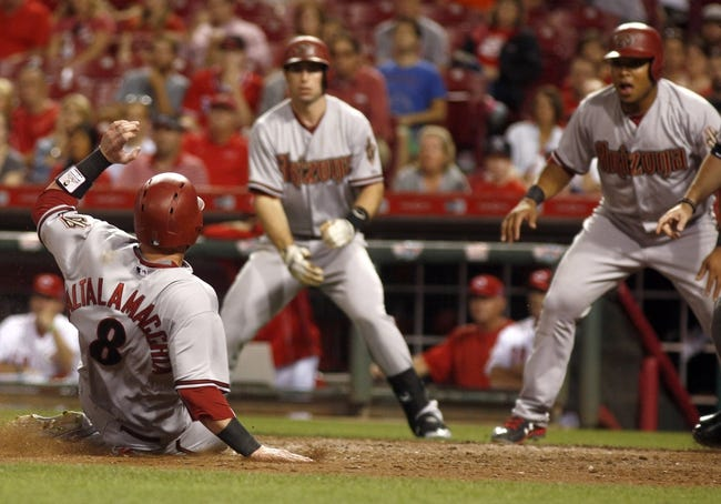 Cincinnati Reds vs. Arizona Diamondbacks - 8/21/15 MLB Pick, Odds, and Prediction