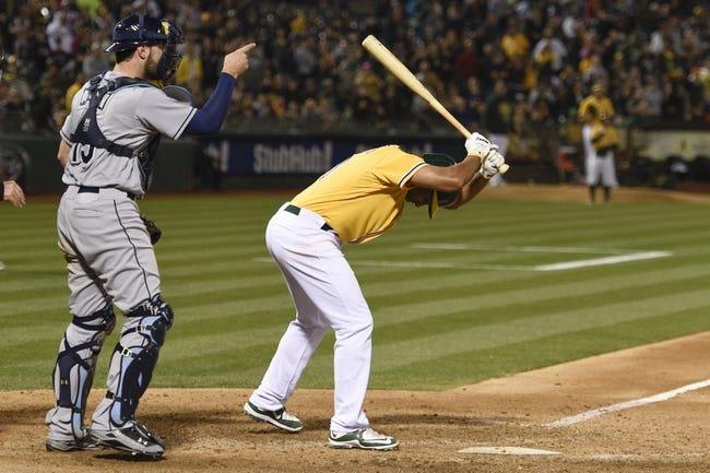 Oakland Athletics vs. Tampa Bay Rays - 8/23/15 MLB Pick, Odds, and Prediction