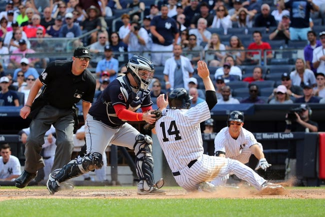 New York Yankees vs. Cleveland Indians - 8/23/15 MLB Pick, Odds, and Prediction
