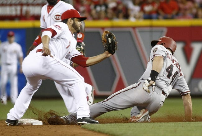 Diamondbacks at Reds - 7/22/16 MLB Pick, Odds, and Prediction
