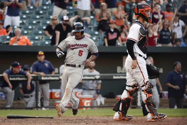 Baltimore Orioles vs. Minnesota Twins - 4/4/16 MLB Pick, Odds, and Prediction