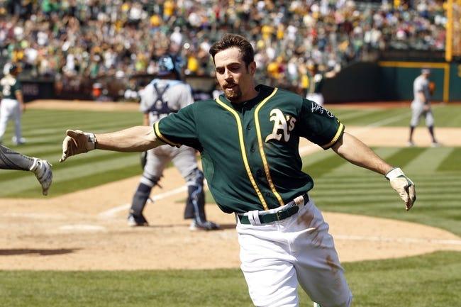 Tampa Bay Rays vs. Oakland Athletics - 5/13/16 MLB Pick, Odds, and Prediction