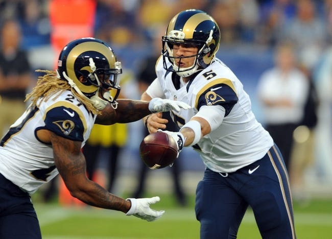 Colts vs. Rams - 8/29/15 NFL Pick, Odds, and Prediction