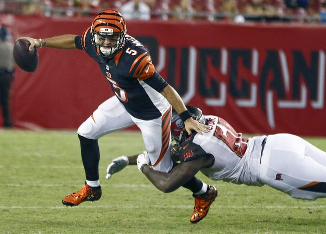 Cincinnati Bengals vs. Tampa Bay Buccaneers - 8/11/17 NFL Pick, Odds, and Prediction