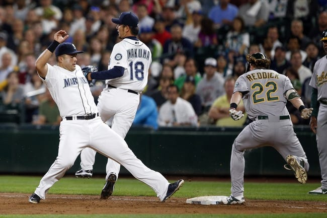 Seattle Mariners vs. Oakland Athletics - 8/26/15 MLB Pick, Odds, and Prediction