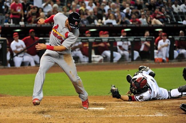 Arizona Diamondbacks vs. St. Louis Cardinals - 8/25/15 MLB Pick, Odds, and Prediction