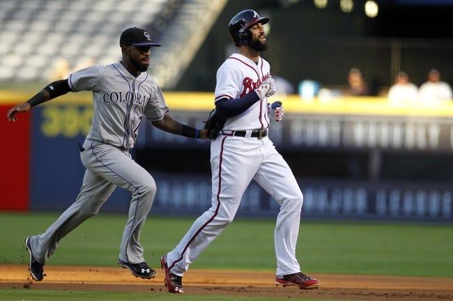 Braves vs. Rockies - 7/15/16 MLB Pick, Odds, and Prediction
