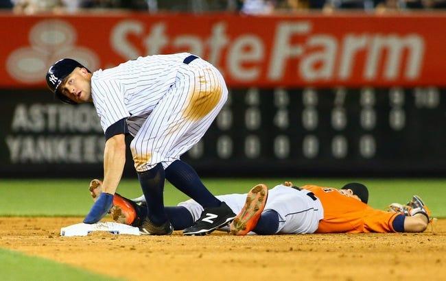 New York Yankees vs. Houston Astros - 10/6/15 MLB Pick, Odds, and Prediction