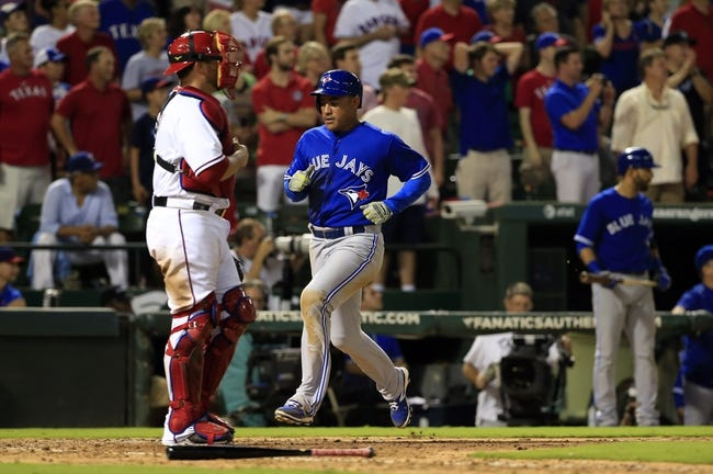 Texas Rangers vs. Toronto Blue Jays - 8/26/15 MLB Pick, Odds, and Prediction