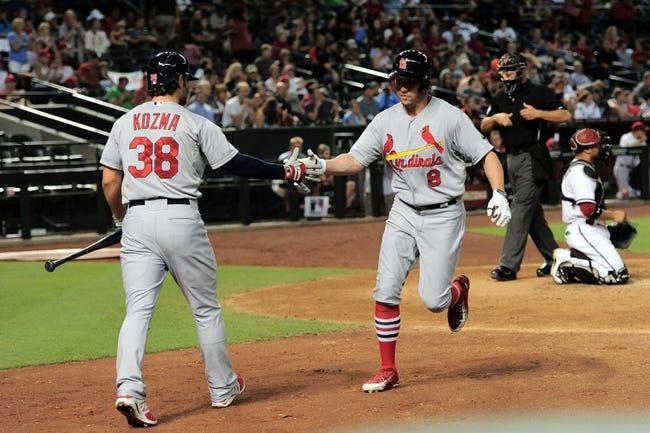 Arizona Diamondbacks vs. St. Louis Cardinals - 8/26/15 MLB Pick, Odds, and Prediction