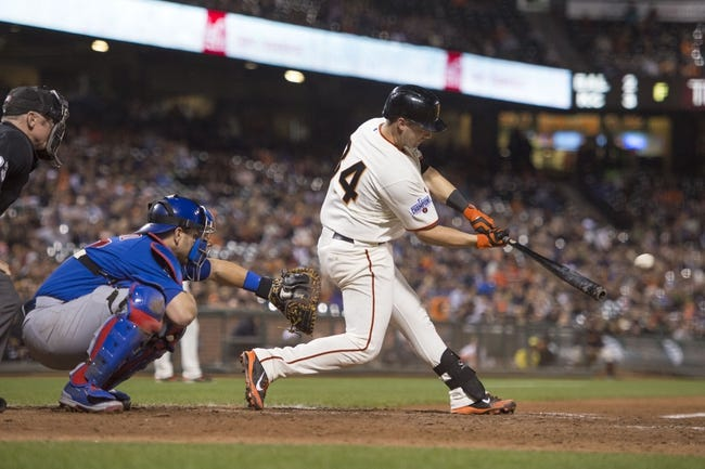 San Francisco Giants vs. Chicago Cubs - 8/26/15 MLB Pick, Odds, and Prediction