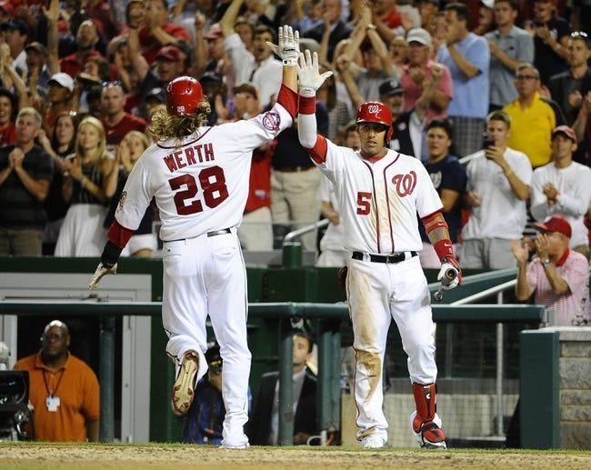 Nationals vs. Padres - 8/27/15 MLB Pick, Odds, and Prediction